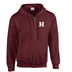 Herlev Rebels - Zipped  Hoody #21