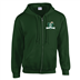 Midwest Musketeers - Zipped Hoody #51 Embriodered