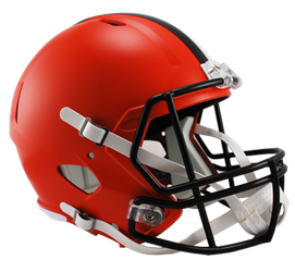 Cleveland Browns Speed Replica Hjelm