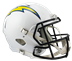 Los Angeles Chargers Speed Replica Hjelm