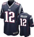 New England Patriots - T. Brady #12 Home Jersey
