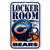 Chicago Bears - Locker Room Sign WH