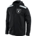 Oakland Raiders - Nailhead Full-Zip Hoody