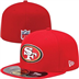 San Francisco 49ers - On Field Cap 5950