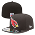 Arizona Cardinals - On Field Cap 5950 BK