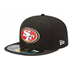 San Francisco 49ers - On Field Cap 5950 BK
