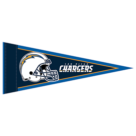 San Diego Chargers - Mini Pennant