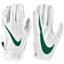 Nike Youth Vapor Jet 5.0 White/Dark green