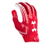 Under Armour 1304694 F6 Gloves Scarlet