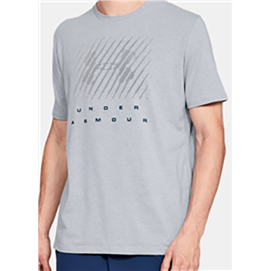 UA1318550 Branded Big Logo Tee