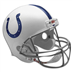 Indianapolis Colts Deluxe Replica Hjelm