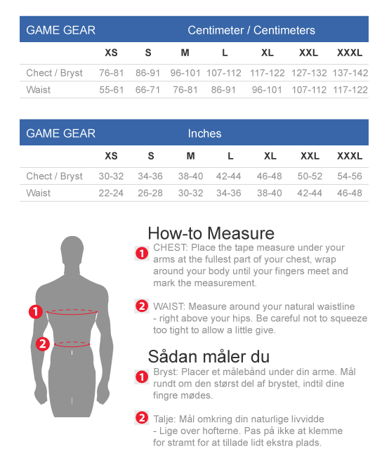Game Gear size guide